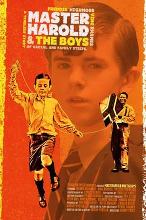 Master Harold...and the Boys (2010 film) - Promotional poster