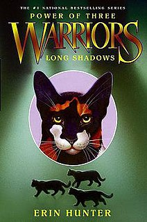 <i>Long Shadows</i> book by Erin Hunter