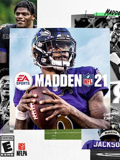 <i>Madden NFL 21</i> 2020 American football video game developed by EA Tiburon