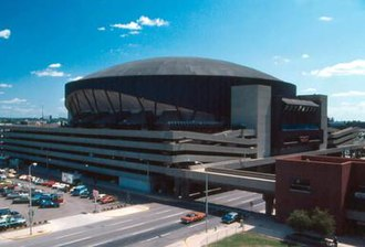 Indiana Pacers - Market Square Arena in 1982.