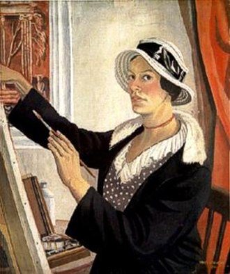 Mary Adshead - Self-portrait (1931)