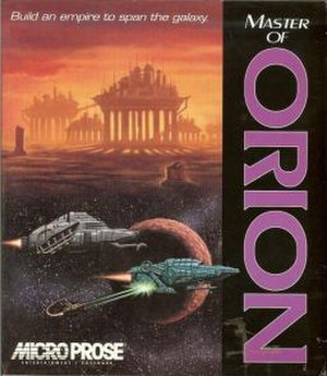 Master of Orion - Image: Master of Orion cover