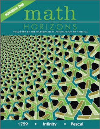 Math Horizons - Cover of November 2008 issue