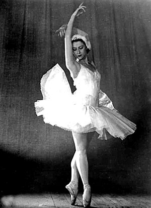 Maya Plisetskaya - In Swan Lake with the Bolshoi Ballet, 1966