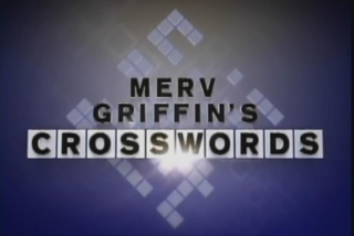 <i>Merv Griffins Crosswords</i> American television game show