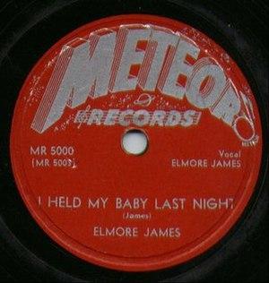 Meteor Records - Elmore James Meteor Records