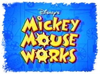 <i>Mickey Mouse Works</i> television series