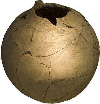 Roman Middlewich - Image: Middlewich Roman artefacts Amphora