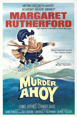 Murder Ahoy! - Theatrical release poster by Tom Jung