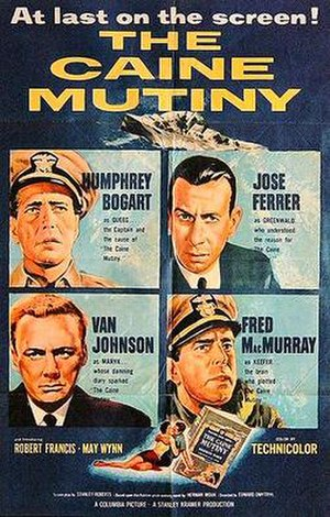The Caine Mutiny (film) - original film poster