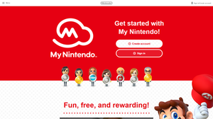 My Nintendo - Image: My Nintendo welcome page