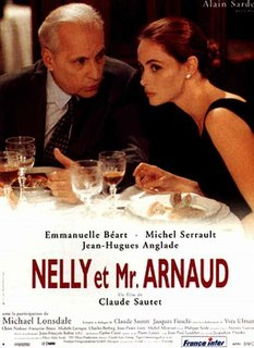 <i>Nelly and Mr. Arnaud</i> 1995 film by Claude Sautet
