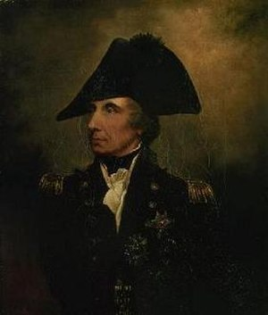 Arthur William Devis - Devis's posthumous portrait of Horatio Nelson