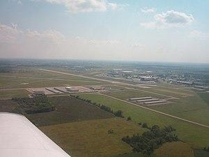 New Century AirCenter - Image: New century view