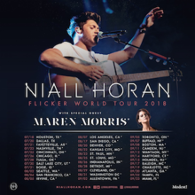 Niall Horan Flicker World Tour Png