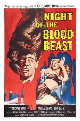 Night of the Blood Beast - Image: Nightofthebloodbeast