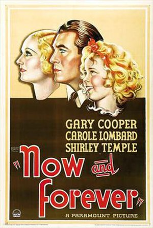 Now and Forever (1934 film) - Theatrical release poster