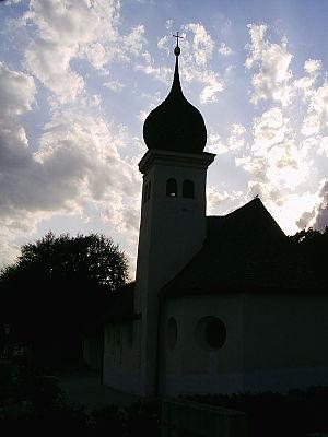 Telfs - Image: Old Church at Telfs