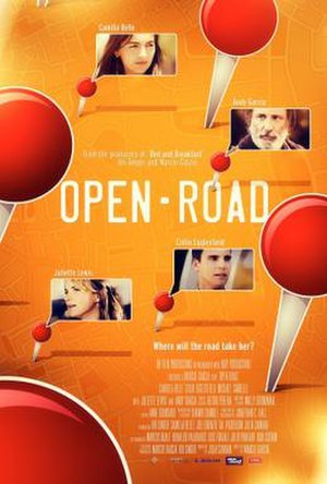 Open Road (2012 film) - Theatrical release poster