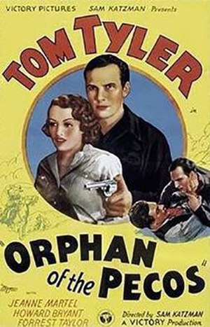 Orphan of the Pecos - Theatrical release poster
