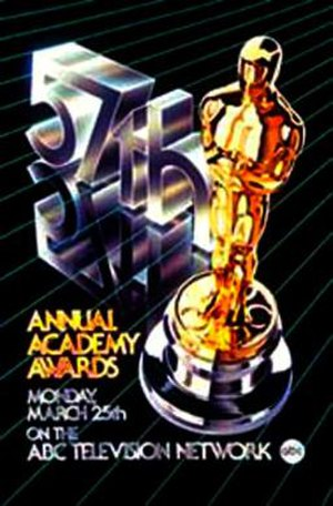 57th Academy Awards - Image: Oscar 1984