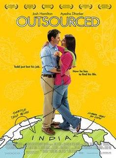 <i>Outsourced</i> (film) 2006 film by John Jeffcoat