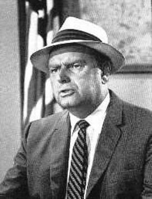 Parley Baer - Baer in network promotional photo as Mayor Roy Stoner from The Andy Griffith Show