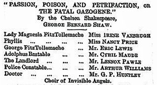 <i>Passion, Poison, and Petrifaction</i> play written by George Bernard Shaw