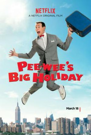 Pee-wee's Big Holiday - Film poster