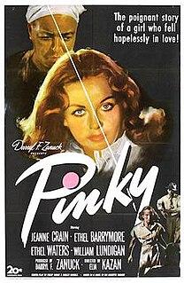 <i>Pinky</i> (film) 1949 film directed by Elia Kazan
