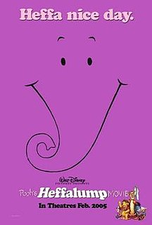 <i>Poohs Heffalump Movie</i> 2005 animated film directed by Frank Nissen