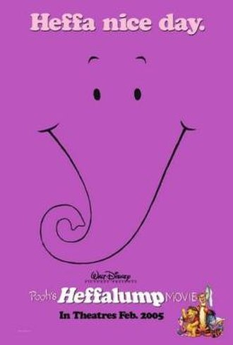 Pooh's Heffalump Movie - Theatrical release poster