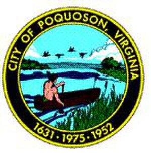 Poquoson, Virginia - Image: Poquoson Seal