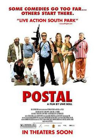 Postal (film) - Theatrical release poster