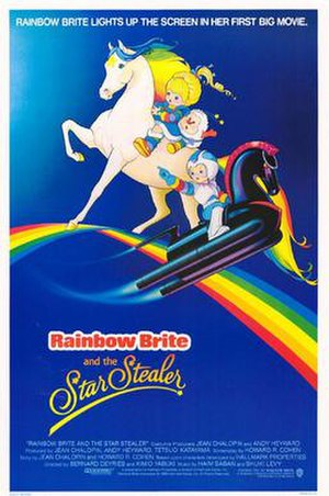 Rainbow Brite and the Star Stealer - Theatrical release poster