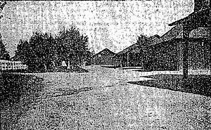 Rancho Del Paso - Rancho Del Paso stallion barn, c. 1905