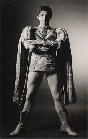 Derek Rencher - Rencher as Paris in MacMillan's Romeo and Juliet