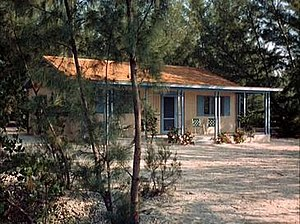 Flipper (1964 TV series) - The Ricks cottage at Coral Key Park and Marine Preserve