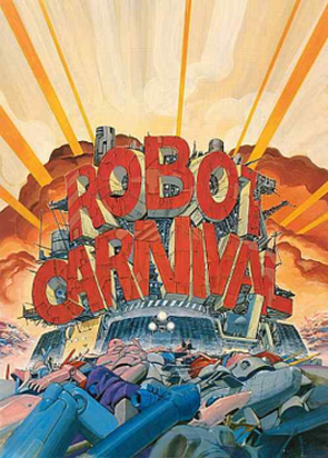 Robot Carnival - Release poster.