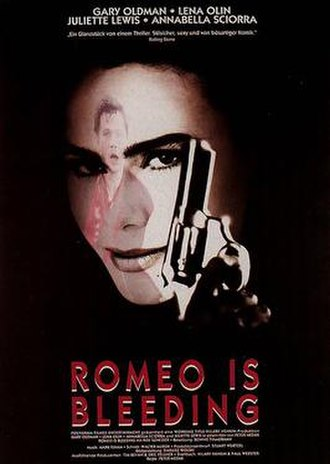 Romeo Is Bleeding - Theatrical release poster