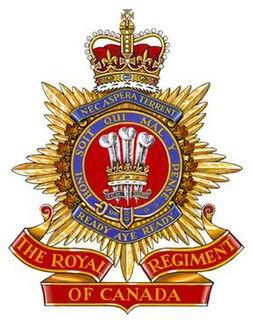 The Royal Regiment of Canada Regimental Museum in Ontario, Canada