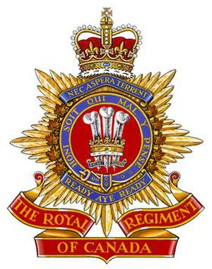 The Royal Regiment of Canada - Image: Royal Regiment of Canada