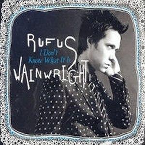 I Don't Know What It Is - Image: Rufus Wainwright Idontknowwhatitiscov er