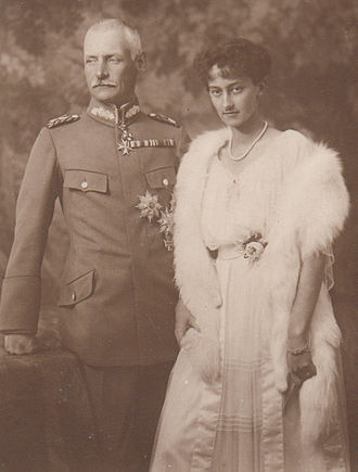 Rupprecht, Crown Prince of Bavaria - Prince Rupprecht and his second wife, Princess Antonia of Luxembourg