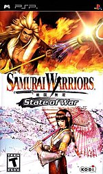 Samurai Warriors - State of War cover.jpg