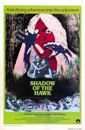 Shadow of the Hawk - Theatrical release poster