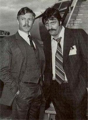 Skyways (TV series) - Tony Bonner as Paul MacFarlane and Bill Stalker as Peter Fanelli in Skyways.
