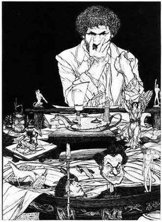 Austin Osman Spare - Image: Spare's Portrait of the Artist