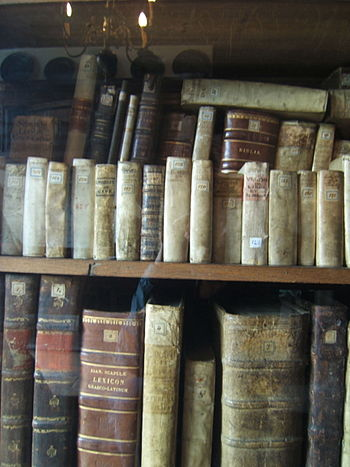 Spinoza's Bookcase
