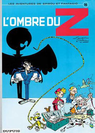 L'ombre du Z - Cover of the Belgian edition